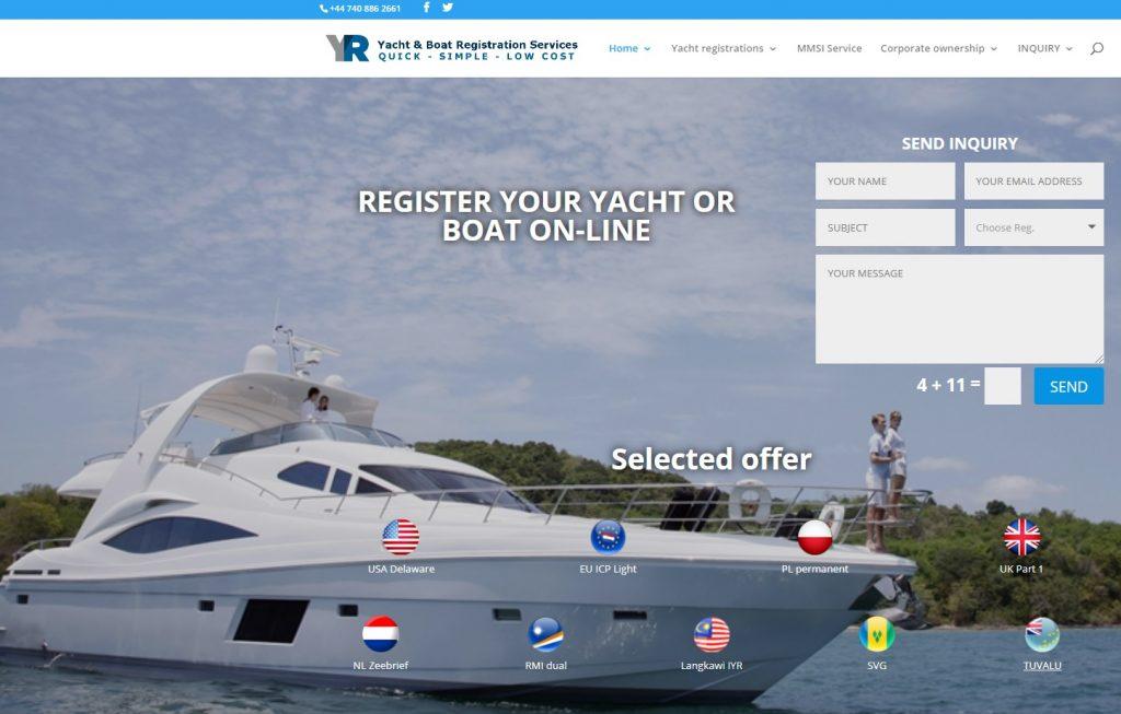 Yachtregistration.net